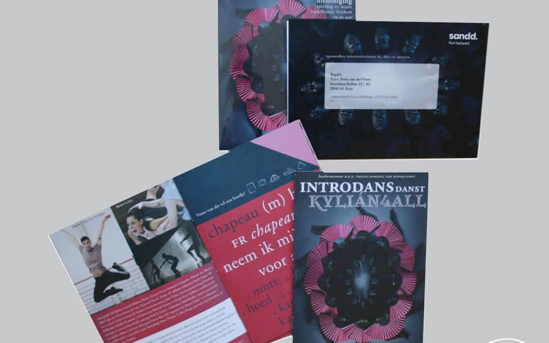 Introdans, uitnodigingen en programma