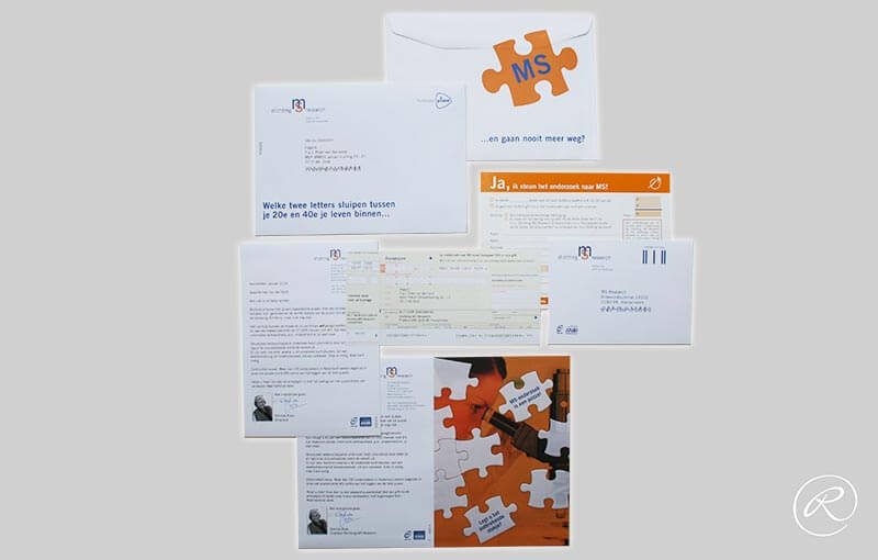 Stichting MS Research, direct mailing