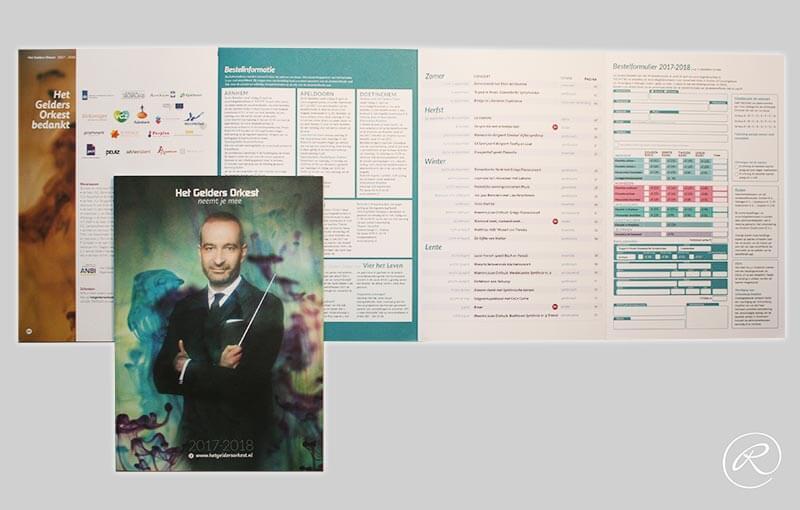 Het Gelders Orkest, brochure