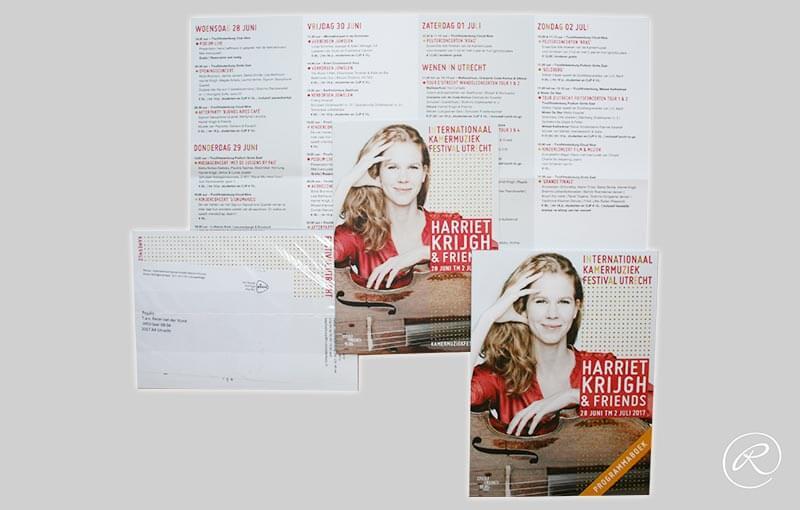 IKFU, direct mailing en programmaboek