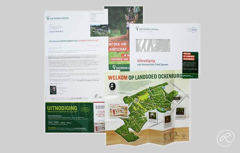 Zuid-Hollands Landschap, direct mailing